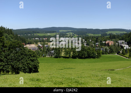 Hinterzarten in the Black Forrest - Stock Photo