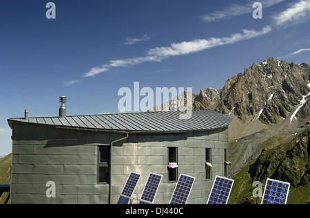 at the Cabane du Velan in the Pennine Alps - Stock Photo