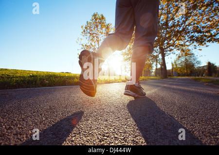 jogging - Stock Photo