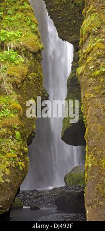 Hidden Waterfall - Stock Photo