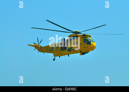 RAF Westland Sea King search and rescue helicopter.Clacton air show August 2013 - Stock Photo