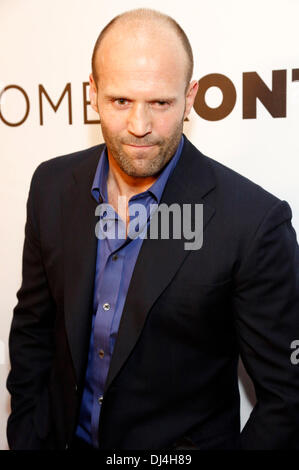 Jason Statham attends the world premiere of ''Homefront' at Planet Hollywood Resort & Casino on November 20, 2013 - Stock Photo