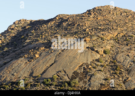 Granite dome, Namaqualand, South Africa - Stock Photo