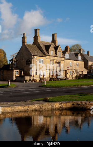 The Bell Inn, Willersey, Gloucestershire, England, UK - Stock Photo