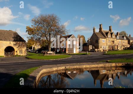 Willersey village, Gloucestershire, England, UK - Stock Photo