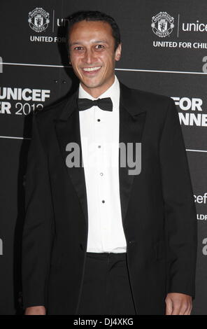 Old Trafford, Manchester, UK.  21 Nov 2013.  Chris Bisson - Arrivals at the United for UNICEF Gala Dinner attended - Stock Photo