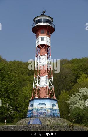 Lighthouse Wittenbergen - Stock Photo