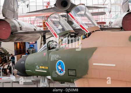 Washington, Seattle, The Museum of Flight, McDonnell F-4C Phantom II - Stock Photo