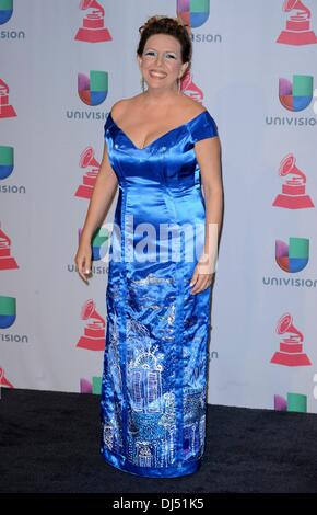 Las Vegas, Nevada, USA. 21st Nov, 2013. Albita at arrivals for 14th Annual Latin GRAMMY Awards - Arrivals, Mandalay - Stock Photo