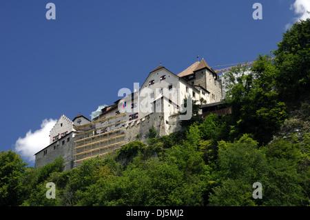 Castle of Vaduz, Liechtenstein - Stock Photo
