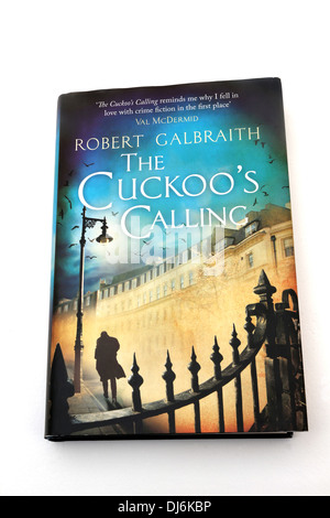 Hardback Book The Cuckoo's Calling By Robert Galbrath. J.K Rowling's Pseudonym - Stock Photo