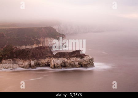 Thornwick Bay, West Yorkshire. - Stock Photo