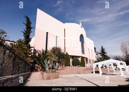 St Paul's Catholic Cathedral. Tirana, Albania - Stock Photo