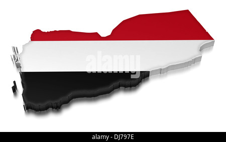 Yemen (clipping path included) - Stock Photo