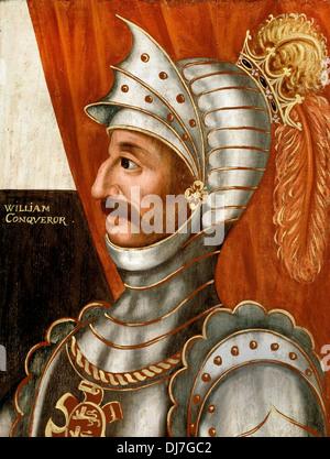 British School. William the Conqueror. Circa 1618-20. Oil on panel. Dulwich Picture Gallery, London. - Stock Photo