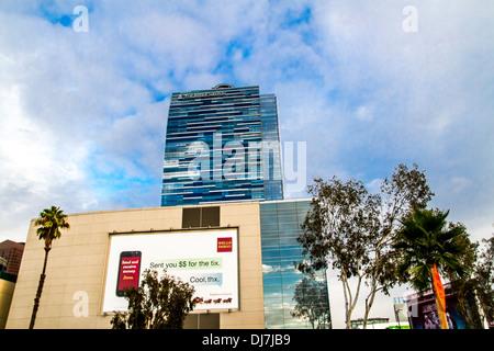 The Ritz Carlton Hotel in Los Angeles California - Stock Photo
