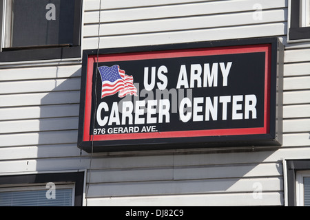 US Army Career Center - Stock Photo
