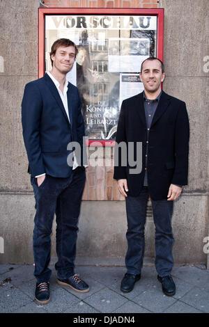 Nikolaj Arcel at the premiere of the movie 'Die Koenigin und der Stock Photo, Royalty Free Image ...