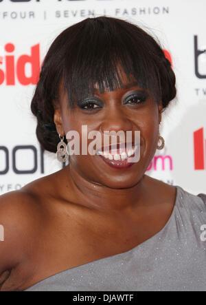 Chizzy Akudolu The Inside Soap Awards 2012 held at One Marylebone London, England - 24.09.12 - Stock Photo