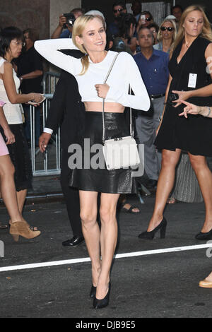 Diane Kruger Mercedes-Benz Fashion Week New York Spring ...