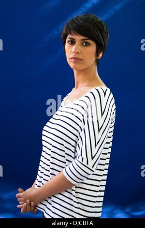 Sahar Delijani, Edinburgh International Book Festival 2013 - Stock Photo
