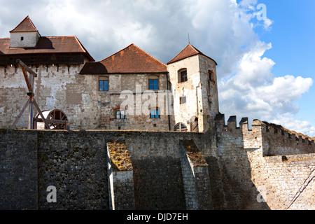 Castle Burghausen, Upper Bavaria Germany - Stock Photo