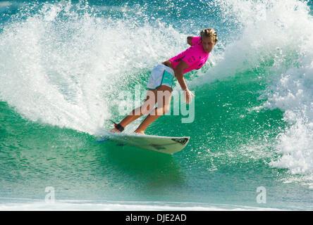 Mar 03, 2004; Snapper Rocks, Queensland, Australia; Association of Surfing Professionals (ASP) World Championship - Stock Photo