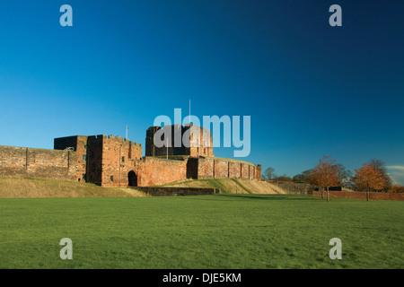 Carlisle Castle, Carlisle, Cumbria - Stock Photo