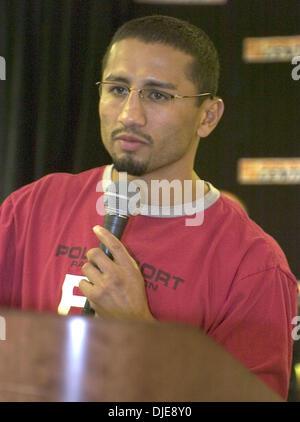 Jun 16, 2004; Los Angeles, CA, USA; Boxer PAULIE AYALA at the press conference for his Saturday June 19, 12 round - Stock Photo