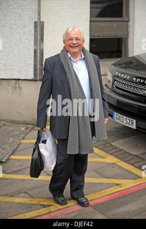 London, UK. 27th November 2013. Christopher Biggins appears on Loose Women at the ITV studios London 27/11/2013 - Stock Photo