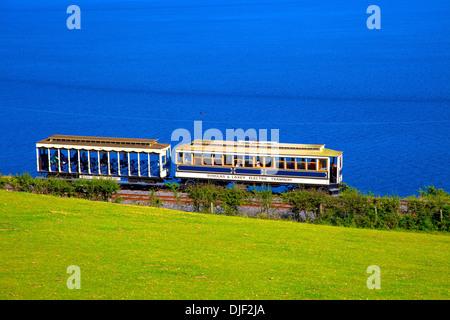 Manx Electric Railway, Isle of Man - Stock Photo