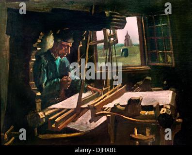 The Weaver 1884 Vincent van Gogh 1853–1890 Dutch Netherlands - Stock Photo