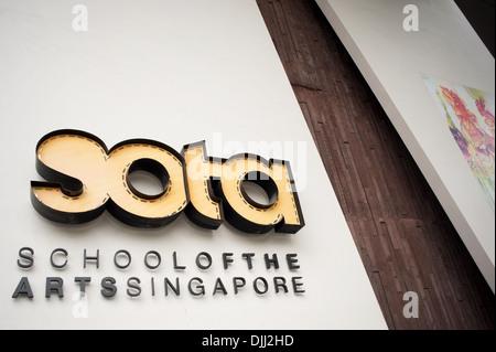 School of The Arts Singapore. - Stock Photo
