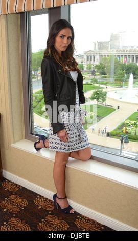 Jordana Brewster TNT's Dallas Press Junket at Four Seasons hotel Philadelphia Pennsylvania - 04.05.12 - Stock Photo