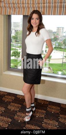 Julie Gonzalo TNT's Dallas Press Junket at Four Seasons hotel Philadelphia Pennsylvania - 04.05.12 - Stock Photo