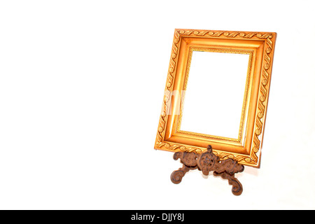 PICTURE FRAME WOOD STAND STANDING UPRIGHT Stock Photo: 20295677 - Alamy