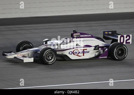 Aug. 28, 2010 - Joliet, Illinois, United States of America - Graham Rahal (02) during the IZOD IndyCar Peak Antifreeze - Stock Photo