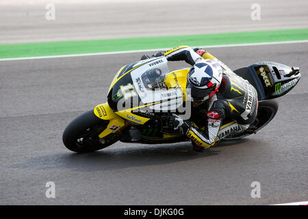 Sep. 05, 2010 - Misano Adriatico, Italy - Tech3 Yamaha rider Ben Spies (USA #11)  during the San Marino GP in Misano - Stock Photo