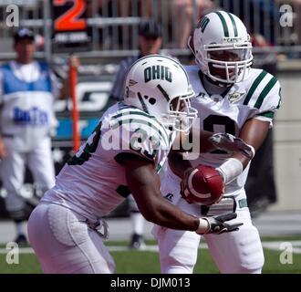 Sept 18, 2010 - Columbus, Ohio, U.S. - Ohio State University Buckeye's destroyed Ohio University Bobcats 43-7. OU's - Stock Photo