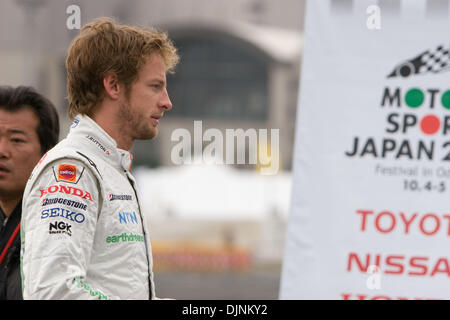 Oct 05, 2008 - Tokyo, Japan - Motor Sport Japan Festival takes place in Odaiba. This annual event consist of Japanese - Stock Photo
