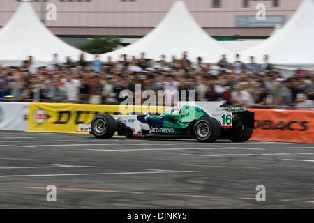 Oct 05, 2008 - Tokyo, Japan - Tokyo, Japan - Motor Sport Japan Festival takes place in Odaiba. This annual event - Stock Photo