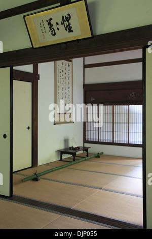 Japan, Kyoto, Daitokuji Temple, Koto-in, interior, - Stock Photo