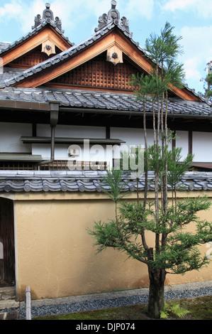 Japan, Kyoto, Daitokuji Temple, Kourin-in, - Stock Photo