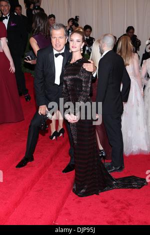 Rosie Huntington-Whiteley; Mario Testino Schiaparelli and Prada 'Impossible Conversations' Costume Institute Gala - Stock Photo