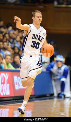 Jan 17, 2010 - Durham, North Carolina; USA - Duke University Blue Devils (30) JON SCHEYER as the Duke University - Stock Photo