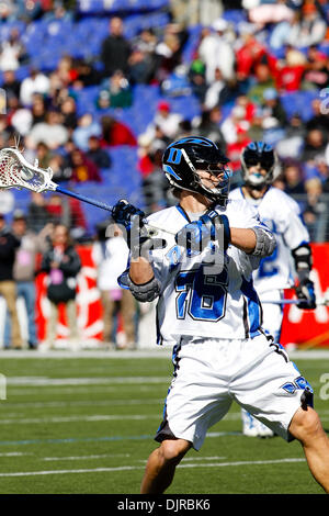 Mar. 06, 2010 - Baltimore, Maryland, U.S - 06 March 2010: action during the Duke versus Maryland lacrosse game at - Stock Photo