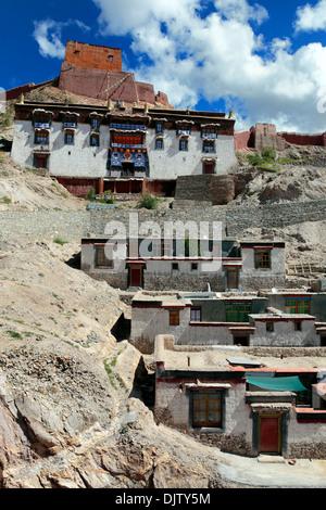 Palcho Monastery (Pelkor Chode, Shekar Gyantse), Gyantse County, Shigatse Prefecture, Tibet, China - Stock Photo