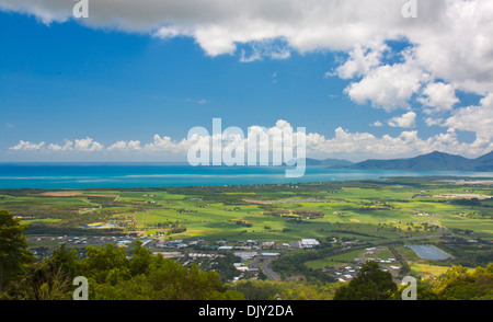 view of Cairns North Queensland Australia - Stock Photo