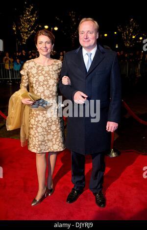 Scheveningen, The Hague. 30th Nov, 2013. Prince Carlos and Princess Annemarie de Bourbon de Parme attend the kingdom's - Stock Photo