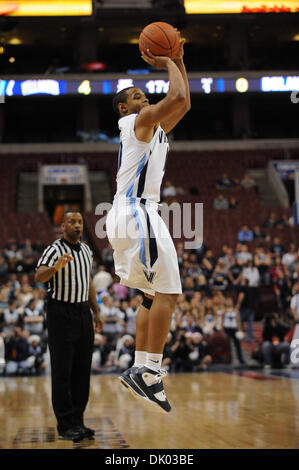 Dec. 18, 2010 - Philadelphia, Pennsylvania, United States of America - Villanova Wildcats guard Corey Fisher (10) - Stock Photo